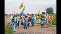 La Voix du Nord – 23/07/2014  Un regroupement haut en couleur a animé, dimanche, la plaine de Bouvines.  L'association Crécy 1346 avait envoyé une délégation de chevaliers et […]
